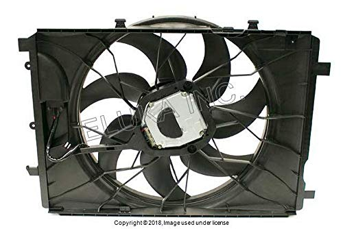 Mercedes Benz Auxiliary Fan Assembly