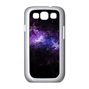 Samsung Galaxy S3 Case, Space Stars Fashionable Case for Samsung Galaxy S3 {White}