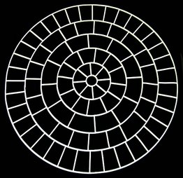 Universal Templates UT-13 7ft. Circle Decorative Concrete Stencils ...