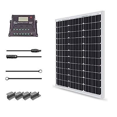 Renogy 12 Volt Monocrystalline Solar Panel