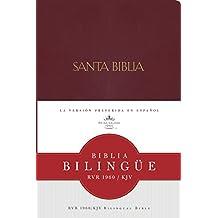 RVR 1960/KJV Biblia Bilingue, borgoña imitacion piel (Spanish Edition)