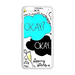 QQQO The Fault in Our Stars Okay? Okay Printed Cell Phone Case for Iphone 6 Plus Kimberly Kurzendoerfer