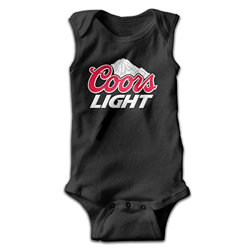 BLUESPACE Coors Light Mountain Infant Baby's Romper