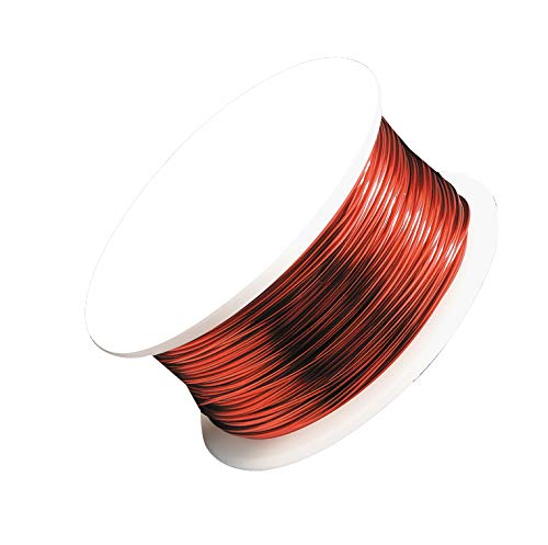 22 Gauge Red Artistic Wire Spool 15 Yards Jewelry Making -