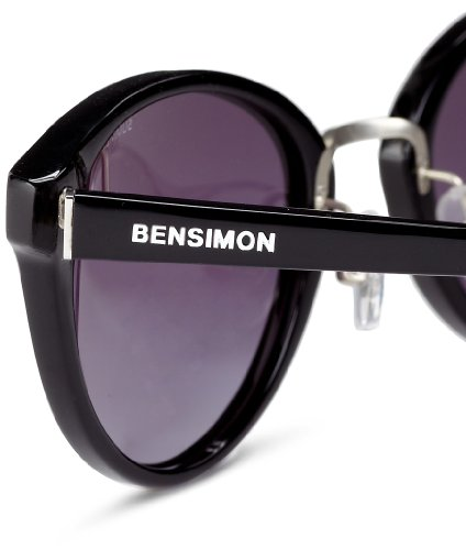 ... Bensimon - Lunette de soleil Mizzy Mizzy OEil de chat - Femme Black -  Noir ... 85e2790b5b8b