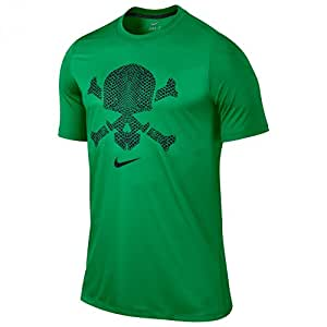 Nike Gpx Hypervenom T-shirt Gymgrnbla Large Green
