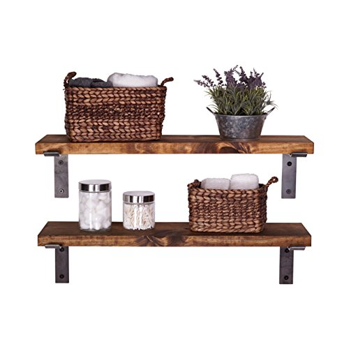 metal bracket wall shelf - 6