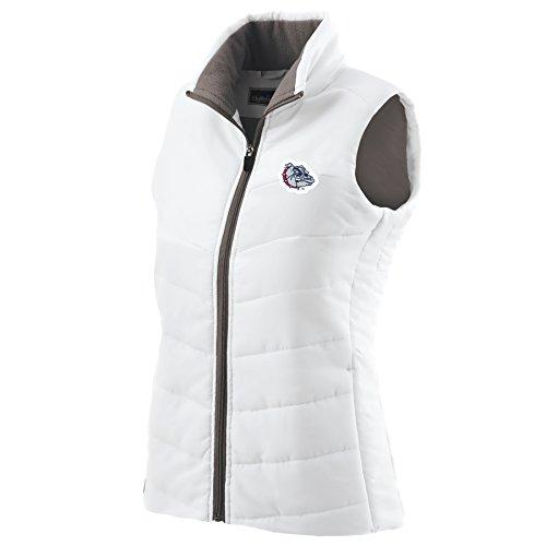 Ouray Sportswear NCAA Gonzaga Bulldogs Women's Admire Vest, 2X, White ()