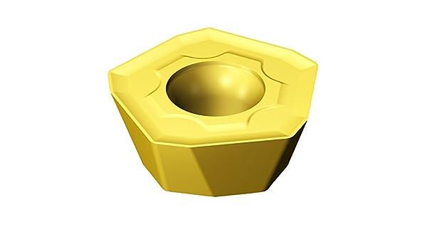 Sandvik Coromant 419R-1405E-MM 2040 Carbide Milling Insert Positive Chip Breaker Pack of 10 0.08 mm Corner Radius