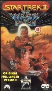 star trek 2 the wrath of khan reino unido vhs
