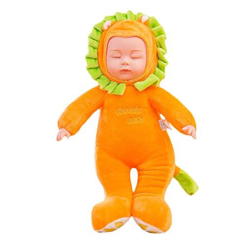 [해외]Smdoxi_toys 플러시 장난감 인형 베개 손 인형 부드러운 장난감 아기 유아 장난감 딸랑이 플러시 링 플레이 피규어 껴안기 사랑스러운 인형 컬렉션 39cm 아기 부드러운 바디 아기 인형 / Smdoxi_toys Plush Toy Doll Pillow Hand Puppets Soft Toys ...