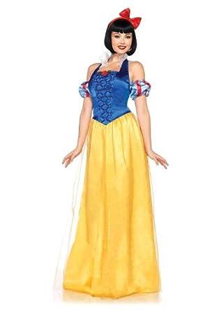 Amazon.com: Leg Avenue Womens Disney Princess Snow White Halloween ...
