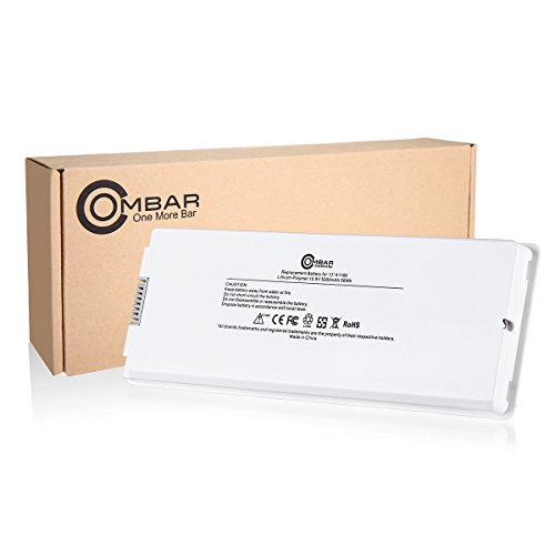 Ombar-Replacement-battery-for-Apple-Macbook-13-inch-A1185-A1181-Mid-Late-2006-Mid-Late-2007-Early-Late-2008-Early-Mid-2009-108V-White