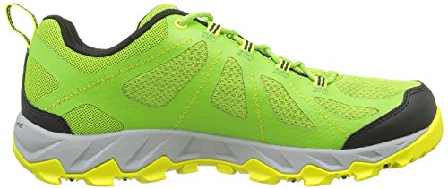 Columbia Peakfreak Xcrsn Ii Xcel Outdry, Zapatos de Low Rise Senderismo para Hombre Verde (Nuclear, White 748Nuclear, White 748)