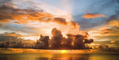 - Sunset in Polynesia by Ashley Cooper 39.375