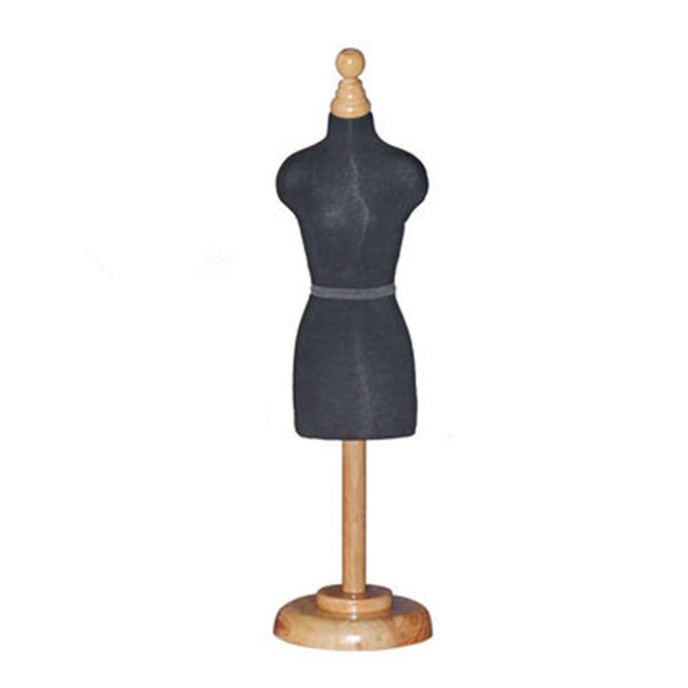 BEIYANG Designer-Dimensional Cutting Student Teaching Desk Display Holder Dress Clothes Mini Mannequin Model Stand (Sticking line fee)