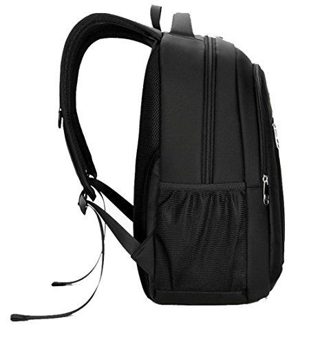 Noir Femme CCAFBP181519 bandoulière à Sacs dos Noir Zippers à Daypack VogueZone009 École Sacs A76Zqw
