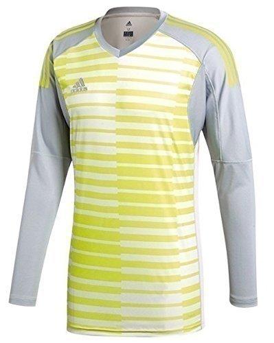adidas Youth Adipro 18 Goalkeeper LS Jersey Green/Grey (Graphic Goalkeeping Jersey)