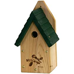 Woodlink Wren / Chickadee Bird House - Garden Series