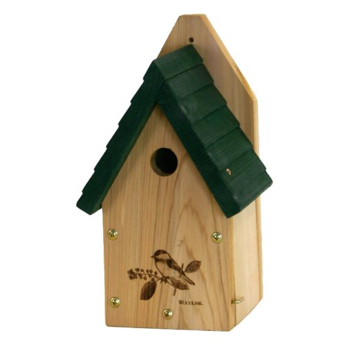 Woodlink Wren / Chickadee Bird House - Garden (Woodlink Wren House)