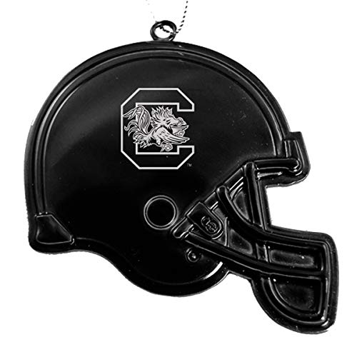 University of South Carolina - Chirstmas Holiday Football Helmet Ornament - Black
