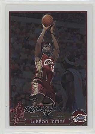 Lebron James (Basketball Card) 2003-04 Topps Chrome - [Base] #111