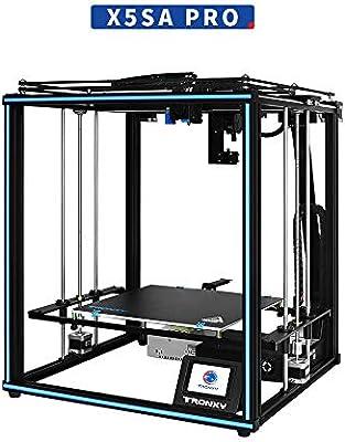 TRONXY X5SA Pro Impresora industrial 3D placa base ultra silenciosa + extrusor de titán, nivelación automática con guía lineal industrial, gran tamaño de impresión 330 x 330 x 400 mm: Amazon.es: Industria,