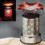 Red Electric Oil Warmer Diffuser Aromatherapy Collectible