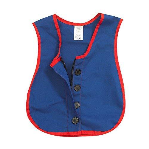 Children's Factory Manual Dexterity Combo Zipper/Button Vest Classroom Furniture (CF361-319) ()