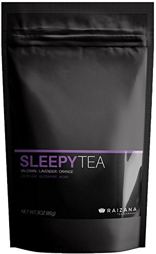 SleepyTea Sleep-Aid Passion Flower Lavender Orange Herbal Tea