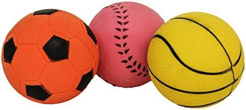 Rosewood Jolly Bolas del Deporte de Goma Perro Perro Juguetes, Pack de 3: Amazon.es: Productos para mascotas