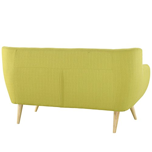 Modway EEI-1782-WHE-SET Remark 3 Piece Living Room Set, Armchair/Loveseat/Sofa, Wheatgrass