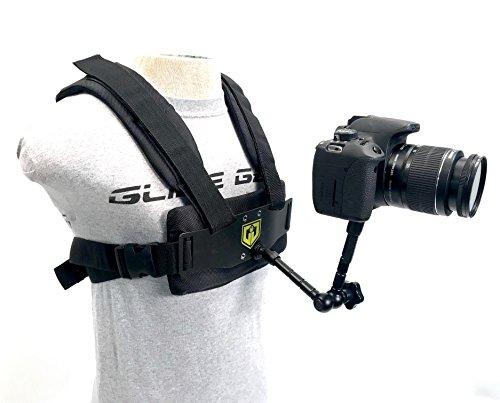 Glide Gear MED 100 Medusa Gopro Body Chest 1st or 3rd POV Person Aluminum Harness Mount