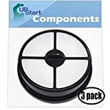 UpStart Battery 3-Pack Replacement for Eureka AS5200 Series Vacuum HEPA Filter - Compatible with Eureka 68115, HF-16 Filter