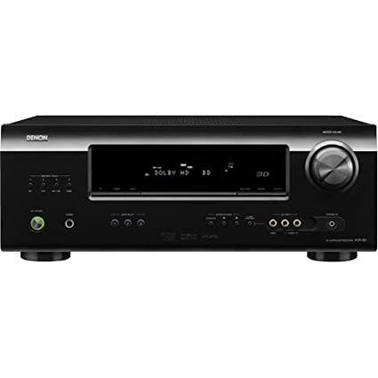 Denon AVR-391 5 1 Channel AV Home Theater Receiver with HDMI 1 4a (Black)  (Discontinued by Manufacturer)