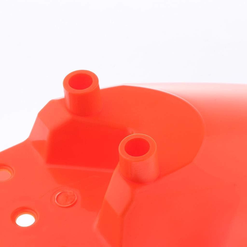 Einfache Montage perfk Ersatz Vorderradabdeckung Kotfl/ügel f/ür Enduro Multiapplikationsf/ähig Orange