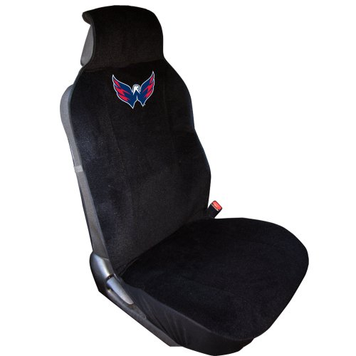 NHL Washington Capitals Seat Cover (Covers Nationals Washington Headrest)