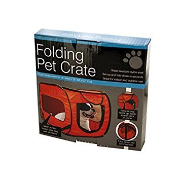 Kole KI-OD989 Folding Pet Crate, One Size
