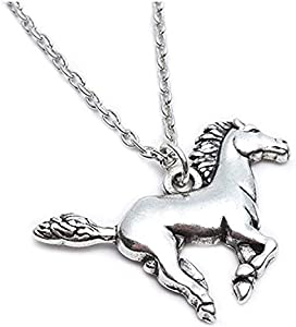 Sweepstakes: Silver Horse Pendant Pony Mustang Necklace…