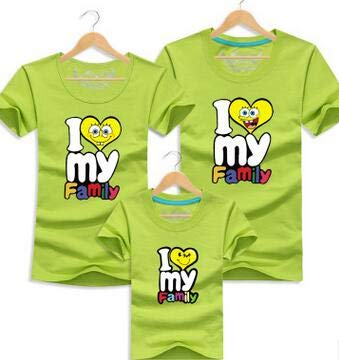 ae4db893f I Love My Family Funny T Shirt Father Mother Daughter Son T Shirts Family  Matching Outfits Summer Kids Clothes for Boys Girls : Ivory, MOM XL:  Amazon.in: ...
