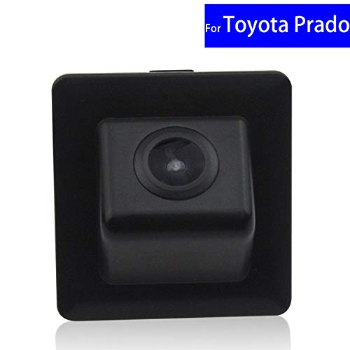 Daphot-Store - 170 Degree Waterproof CCD Car Rear View Reverse Backup Camera for Car Monitor for Toyota Prado 2010 2011 2012~ ()