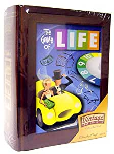 Parker Brothers Vintage Game Collection Wooden Book Box The Game of Life by Hasbro