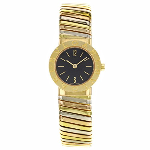 Bvlgari Tubogas BB192TYWP 18K Tri-Color Gold Women's Watch