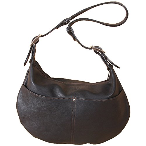 Black Drifter No Womens Handbag Bag 25 Leather Hobo Buckle Shoulder Nickel Purse P1vwpWZPq