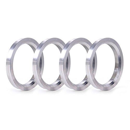 - ZHTEAP 4pc Wheel Hub Centric Rings 56.1 to 73.1 OD=73.1mm ID=56.1mm - Aluminium Alloy Wheel Hubrings for Most Honda Subaru Mini