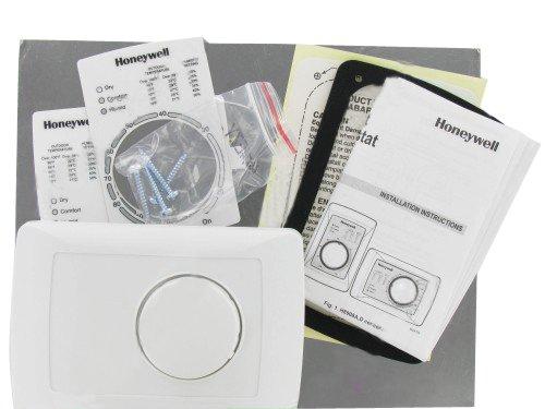 Honeywell - H8908DSPST - Dehumidistat, Wall or Duct Mount, 24V