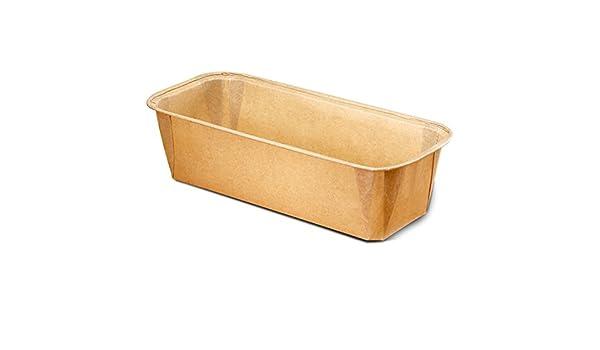 Papel - Molde para pan, pasteles Bake su loafs Banana Cake, semillas Pan. Todo lo que usted desea Bake en una forma rectangular tamaño L 6 1/5