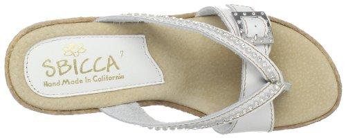 Sbicca Women's Horizon Wedge Sandal White S1ul2viW