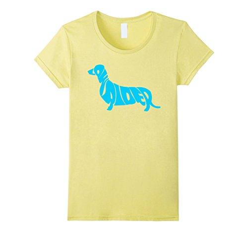 Womens Low Rider -  Wiener dog shirt, Daschund shirt Smal...