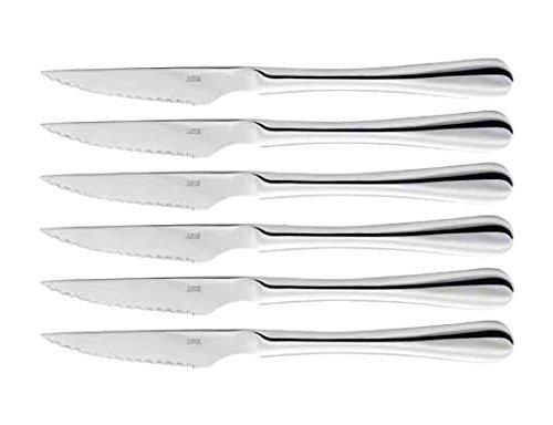 Judge Steak Knives, Silver, Set of 6 BF25